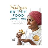 Nadiya's British Food Adventure Book By Nadiya Hussain NEW BRAND UK