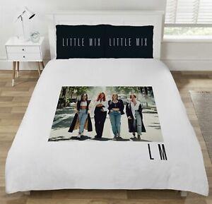 Official Little Mix LM5 Single Double Duvet Cover Reversible Bedding Set Cotton