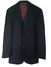 Herren Anzug in Schwarz gestreift, Nadelstreifen Marke STONES Gr. 90 Gr.M *NEU*