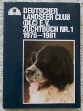 GERMAN LANDSEER NEWFOUNDLAND CLUB STUD DOG BOOK 1976/81