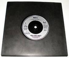 """KISS : CRAZY CRAZY NIGHTS   7"""" Vinyl Single 45  (Vertigo 1987)  Ex."""