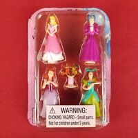 """New Disney Cinderella Magical Musical Castle Polly Pocket Style 2"""" Figures Gus"""