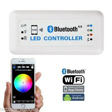 Bluetooth Cell Phone iOS Android RGB LED Color Changing Light Remote Controller