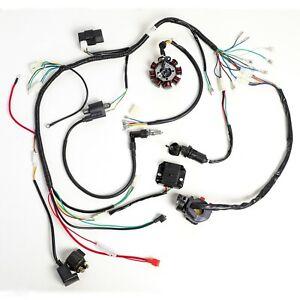 COMPLETE ELECTRICS ATV QUAD 200CC 250CC CDI COIL WIRING HARNESS ZONGSHEN LIFAN