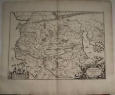 MACEDONIA GREECE 1741 GEORG HORN UNUSUAL ANTIQUE ORIGINAL COPPER ENGRAVED MAP