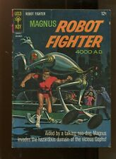 MAGNUS ROBOT FIGHTER #16 (4.5) DOMAIN OF THE VICIOUS GOPHS 1966
