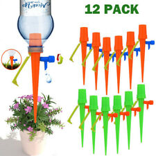 12pcs Garden Plant Automatic Self Watering Spikes Stakes Valve Waterer Device Sl