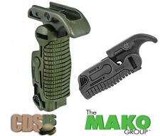MAKO FAB Defense Tactical Weaver Picatinny Folding Grip Foregrip FGG-K OD-GREEN