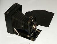 German Folding Plate 9x12 Camera lens Skopar F=13.5 cm aF4.5 1:4.5/13.5