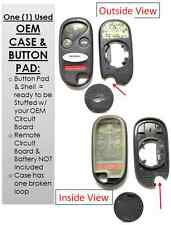 Case shell buttons E4EG8D-443H-A keyless remote clicker keyfob entry controller