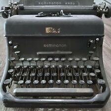 VINTAGE 1940's REMINGTON RAND MODEL 17 TYPEWRITER MADE IN USA Serial#: 2 - 41024