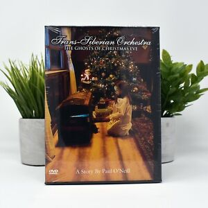 Trans-Siberian Orchestra The Ghost Of Christmas Eve DVD - New Sealed