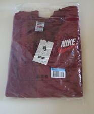 FW18 Supreme x Nike burgundy crewneck size M medium sweatshirt