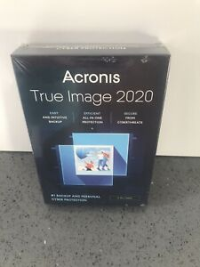 Acronis True Image 2020 - 3 PC / Mac. Backup, Personal and Cyber protection