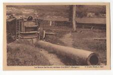 La Grosse Bertha Aux Environs d'Albert Chuignes France Vintage Postcard 918b