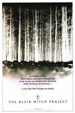 The Blair Witch Project Footage Horror Classic 27x40 Original Movie Poster