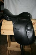 "USED Dressage Saddle - 17 1/2"" seat"