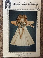 """Wood Craft Pattern """"Country Quilted Angel"""""""