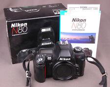 Nikon N80 Body-Paperwork & Box