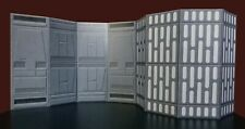 6 Inch Death Star Hallway w Lights Diorama Walls 2 pack Star Wars Black Series