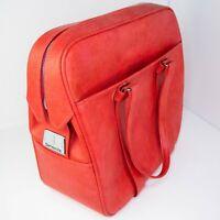 RARE VINTAGE SAMSONITE Silhouette Tote Bag Carry On Hand Bag RED