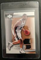 2003 UD SWEET SHOT TIM DUNCAN GAME USED JERSEY CARD SAN ANTONIO SPURS HOF MINT