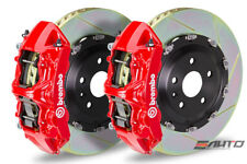 Brembo Front GT Big Brake 6Pot N Caliper Red 380x34 Slot Rotor Supra JZA80 93-98