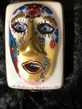 Dubarry France Limoges Lmt Edition #58 Masks Trinket Box - Sir Anthony Hopkins