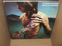 Todd Rundgren Back To The Bars Vintage Vinyl 2 LP Live Greatest Hits 1978 EX/VG+