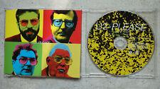 U2 – Please  PROMO-CD Picture CD Island PLEASE CD1 - Topp MINT-