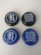 4 Chapas de cerveza REPTILIAN.