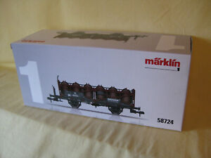 """Märklin 58724 Säuretopfwagen """" Degussa """" der DB   Spur 1"""