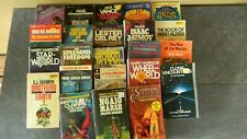 Lot Of 23 Vtg Paperback Science Fiction Books - Various Authors