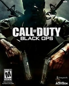 SEALED NEW Call of Duty BLACK OPS Video Game for MAC first strike computer disc
