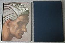 Libro MICHELANGELO la Cappella Sistina GLI ANTENATI DI CRISTO Takashi Okamura
