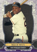 """2014  TOPPS    """"TRIPLE THREADS""""  AMETHYST  #27  WILLIE MAYS  016/325"""
