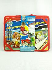 Nickelodeon PAW Patrol Story Book LapDesk with Carrying Case Crayons Sticker