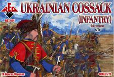 RED BOX 1/72 UCRANIA cosaco (Infantería) 16 Century Juego 1 #72114