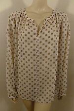 NEW Ann Taylor LOFT See thru Long Sleeve  Top Blouse Woman Size XL  NEW