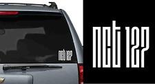 NCT 127 K-pop Vinyl window Decal  Laptop Stickers die-cut