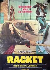Racket Filmplakat A1 Il Grande Racket Fabio Testi Vincent Gardenia Renzo Palmer