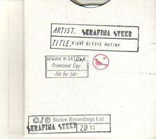 (DR729) Serafina Steer, Night Before Mutiny - 2012 DJ CD