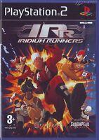 IRIDIUM RUNNERS (2008) PS2 ITALIANO PAL ORIGINALE NUOVO SIGILLATO BRAND NEW