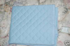 Williams Sonoma Home Quilted Pillow Cover blue 26sq