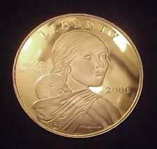 """EXTREMELY RARE """"SACAGAWEA"""" 4 OZ .999 SILVER PROOF ROUND (ORIG. MINT BOX)"""