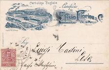 * VALLE MOSSO Lanificio Fiorina 1902
