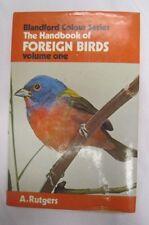 1977 Blanford Colour HANDBOOK OF FOREIGN BIRDS Vol. 1 A Rutgers 4th Ed. HC DJ  *