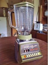 Vintage 1970s Oster OSTERIZER Imperial Pulse-Matic Blender, 858 - Works Great
