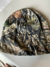 Mens Mossy Oak Beanie New Camo Fleece Lined Hat New NWOT