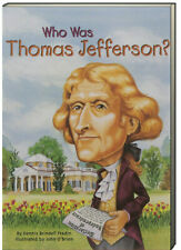 Who Was Thomas Jefferson? by Dennis Brindell Fradin (Paperback)FREE shipping $35